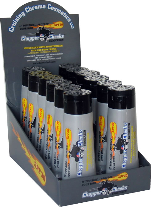 Buy 2 Displays of Chopper Cheeks Tubes Get 3rd 25% Off