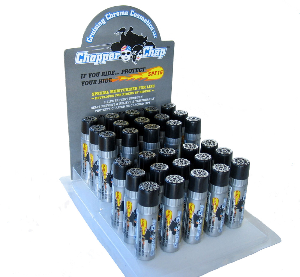 Buy 1 Display Pack of Chopper Chap Get a 2nd at 20% Off